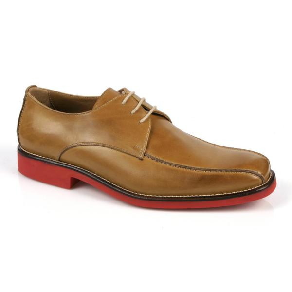 Michael Toschi Mirco Bicycle Toe Shoes Old Saddle / Red Sole Image