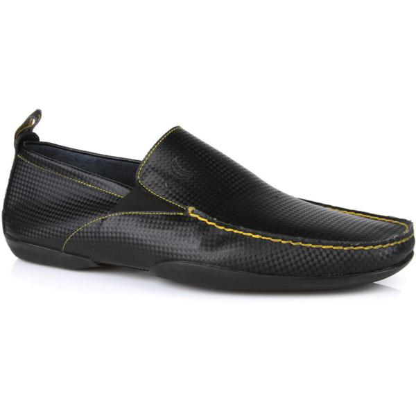 Michael Toschi Onda Driving Shoes Black Carbontech Image