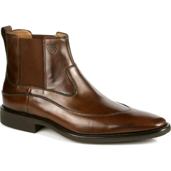 Michael Toschi Spur Double Side Gore Boots Brown Image