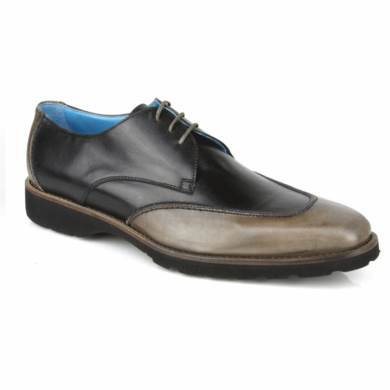 Michael Toschi SL2 Lace Up Shoes Black / Gray Image