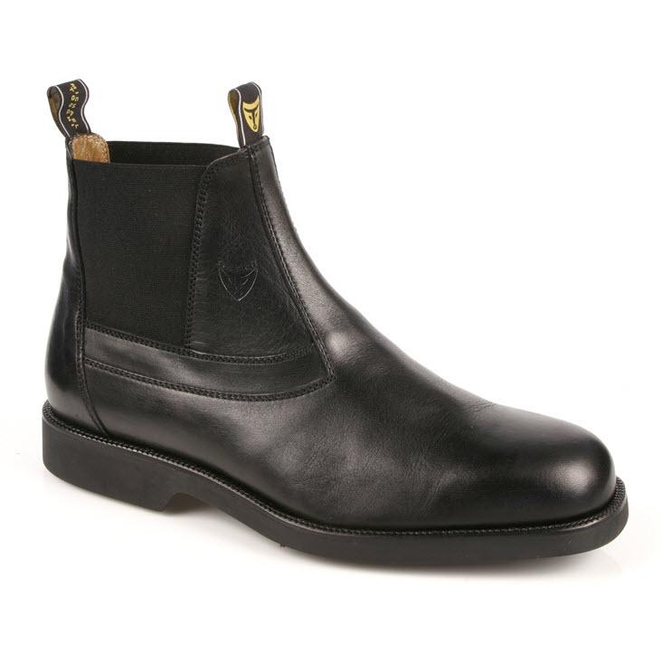 Michael Toschi Sydney Aussie Work Boots Black Image