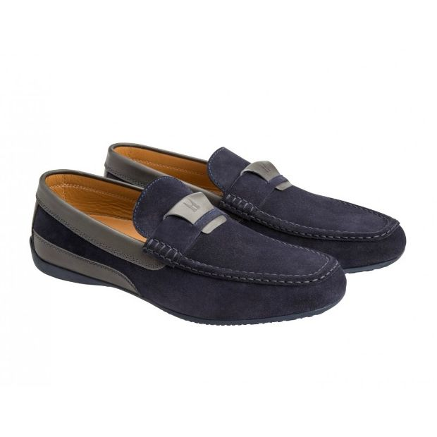 Moreschi 041861A Driving Loafers Grey (SPECIAL ORDER) Image