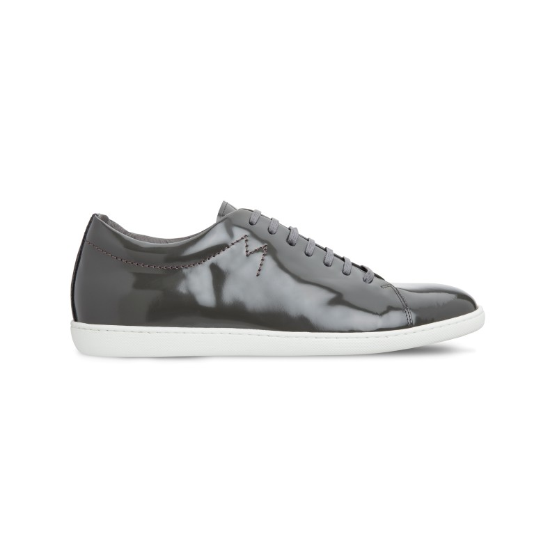 Moreschi 042540A Patent Leather sneakers Grey (SPECIAL ORDER) Image
