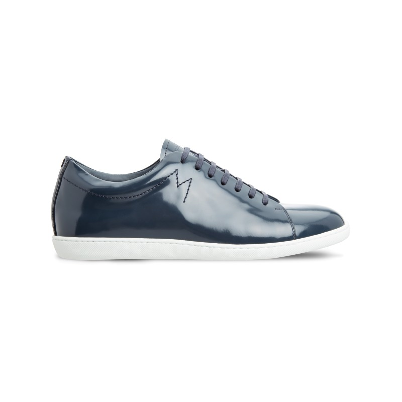 Moreschi 042540B Patent Leather sneakers Dark Blue (SPECIAL ORDER) Image