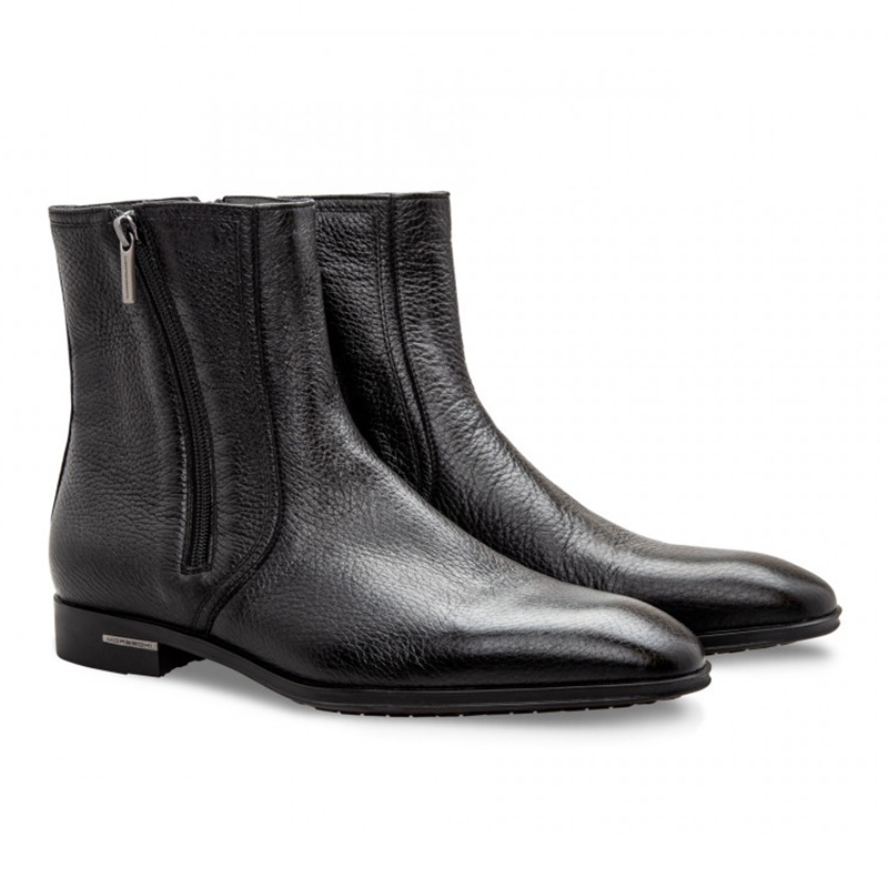 Moreschi 043134A Deerskin Boots Black Image