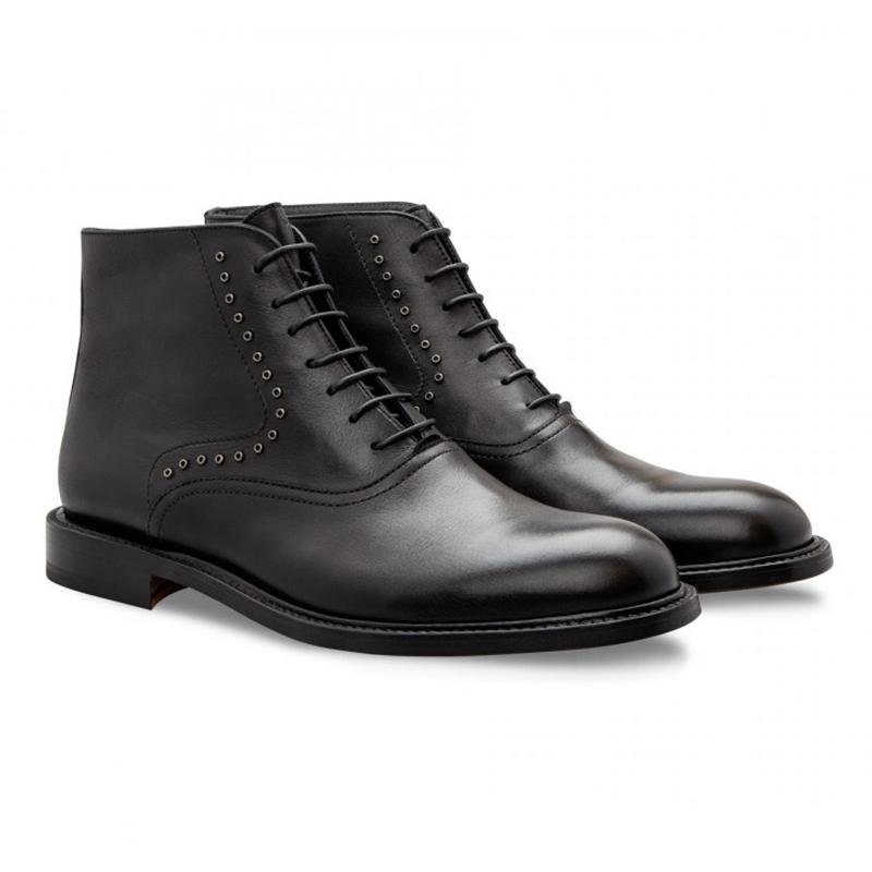 Moreschi 043163 Calfskin Boots Black Image