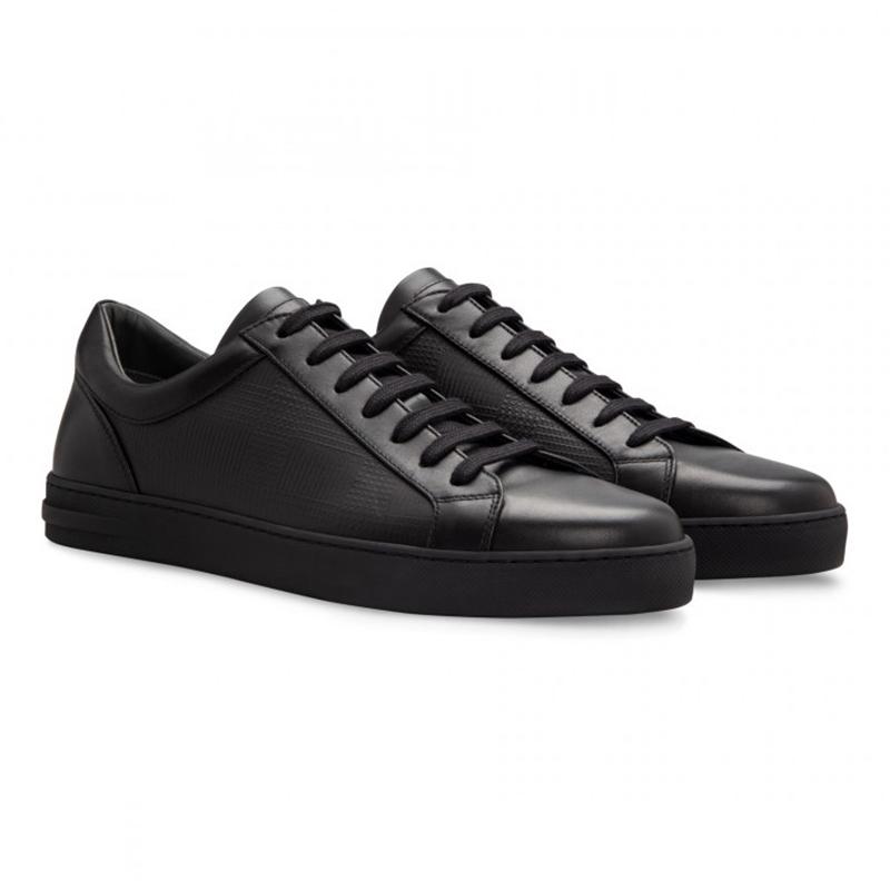 Moreschi 043180C Calfskin Sneakers Black Image