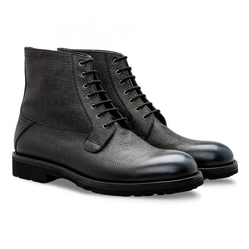 Moreschi 043212 Calfskin Boots Dark Blue Image