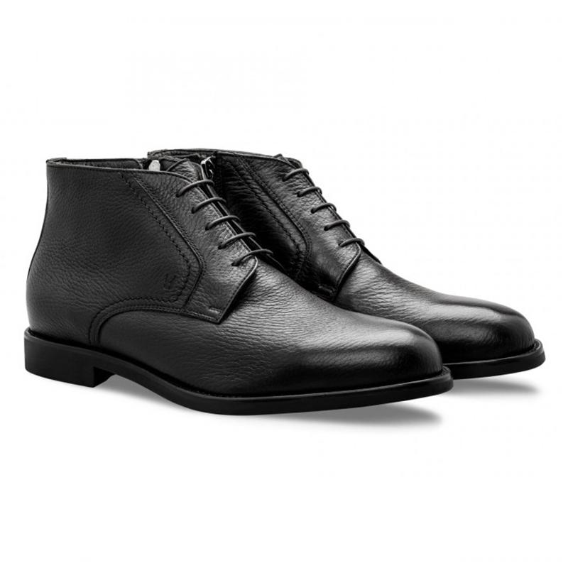 Moreschi 043236 Calfskin Boots Black Image