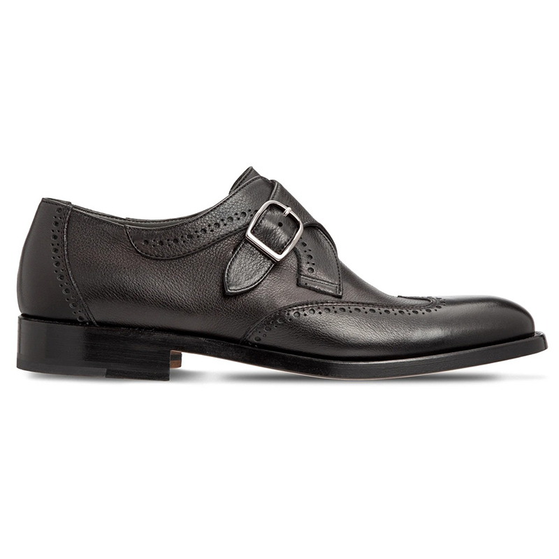Moreschi 043541A Calfskin Shoes Black Image