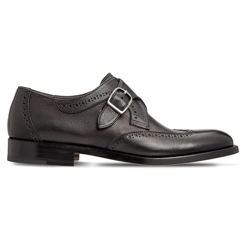 Moreschi 043541A Calfskin Shoes Black Image