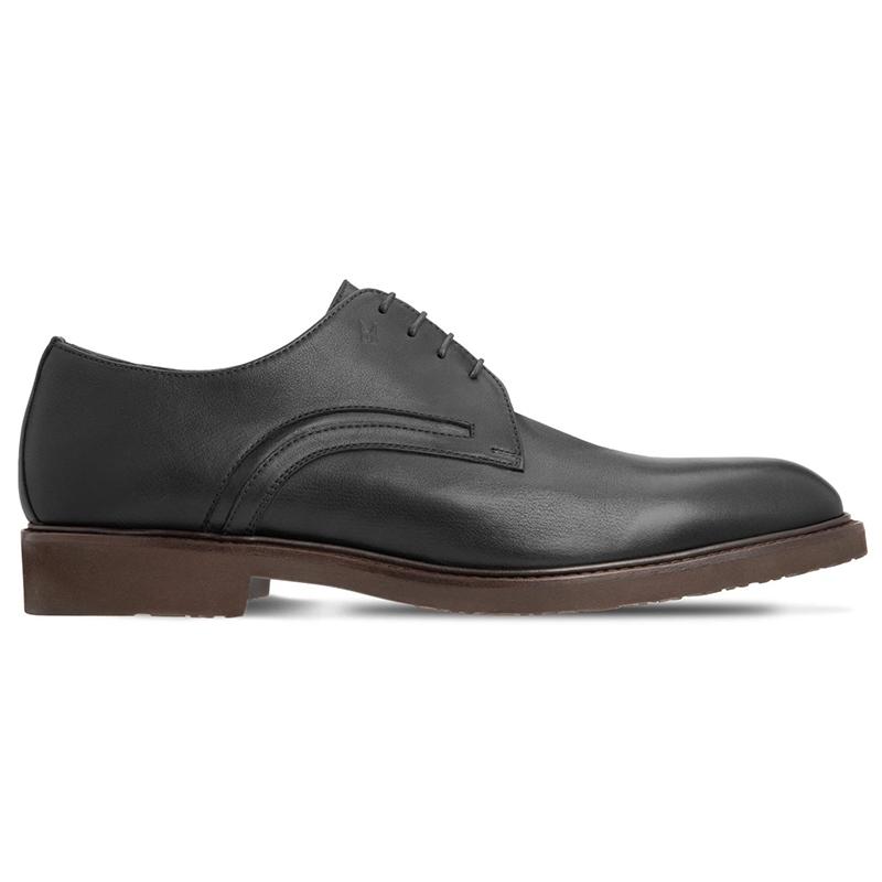 Moreschi 043549C Calfskin Derby Shoes Black Image