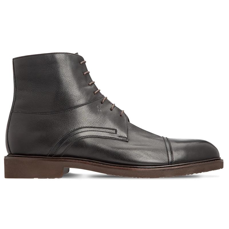 Moreschi 043552A Calfskin Ankle Boots Black Image