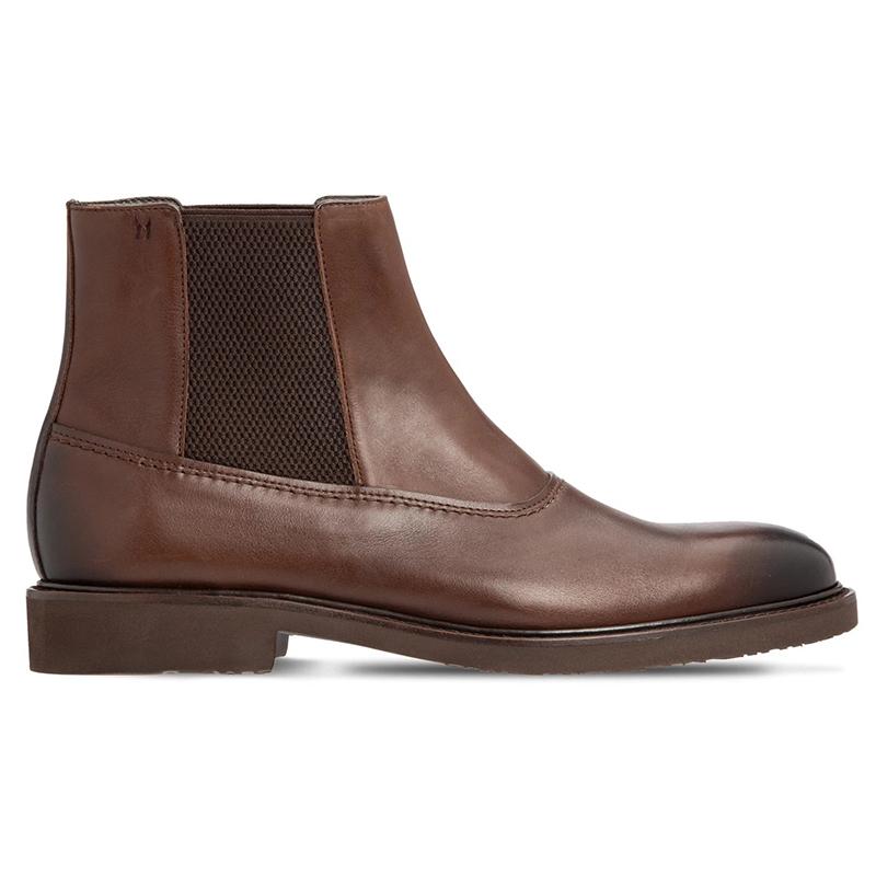 Moreschi 043555A Calfskin Chelsea Boots Dark Brown Image