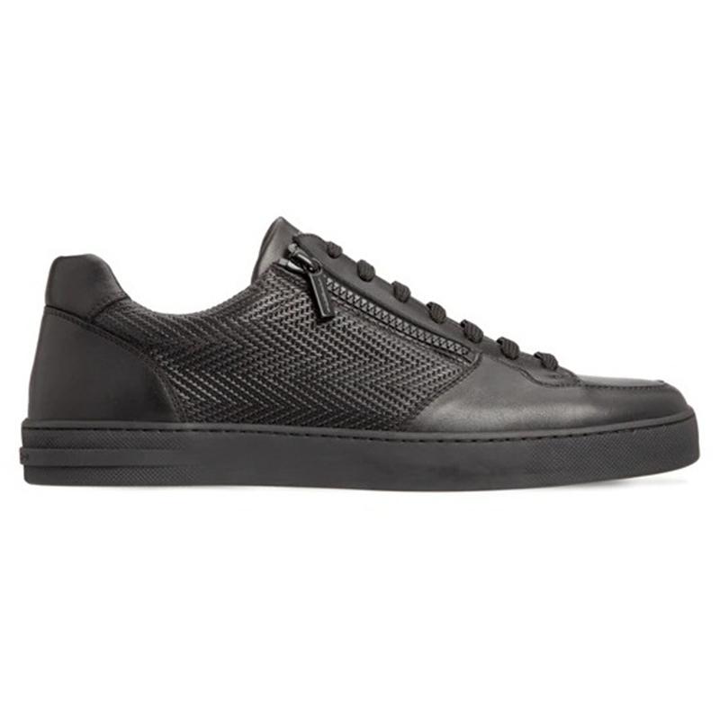 Moreschi 043621A Calfskin Sneakers Black Image