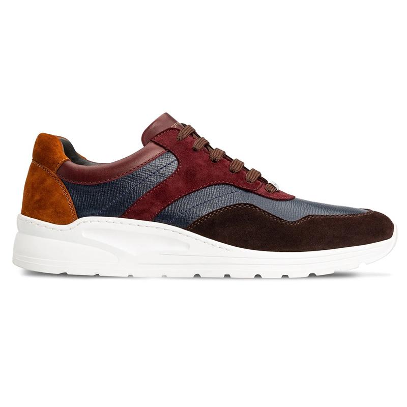 Moreschi 043641B Calfskin Sneakers Multicolor Image