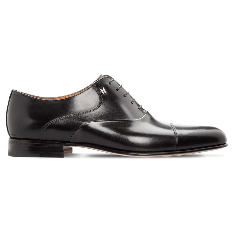 Moreschi 043774 Calfskin Oxford Shoes Black Image