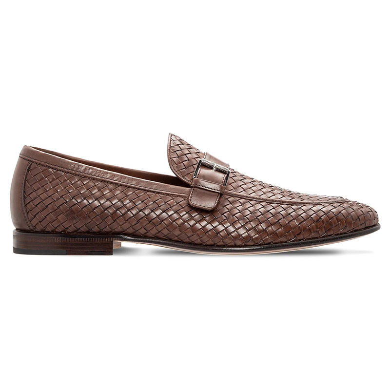 Moreschi 043792 Woven Loafers Brown Image