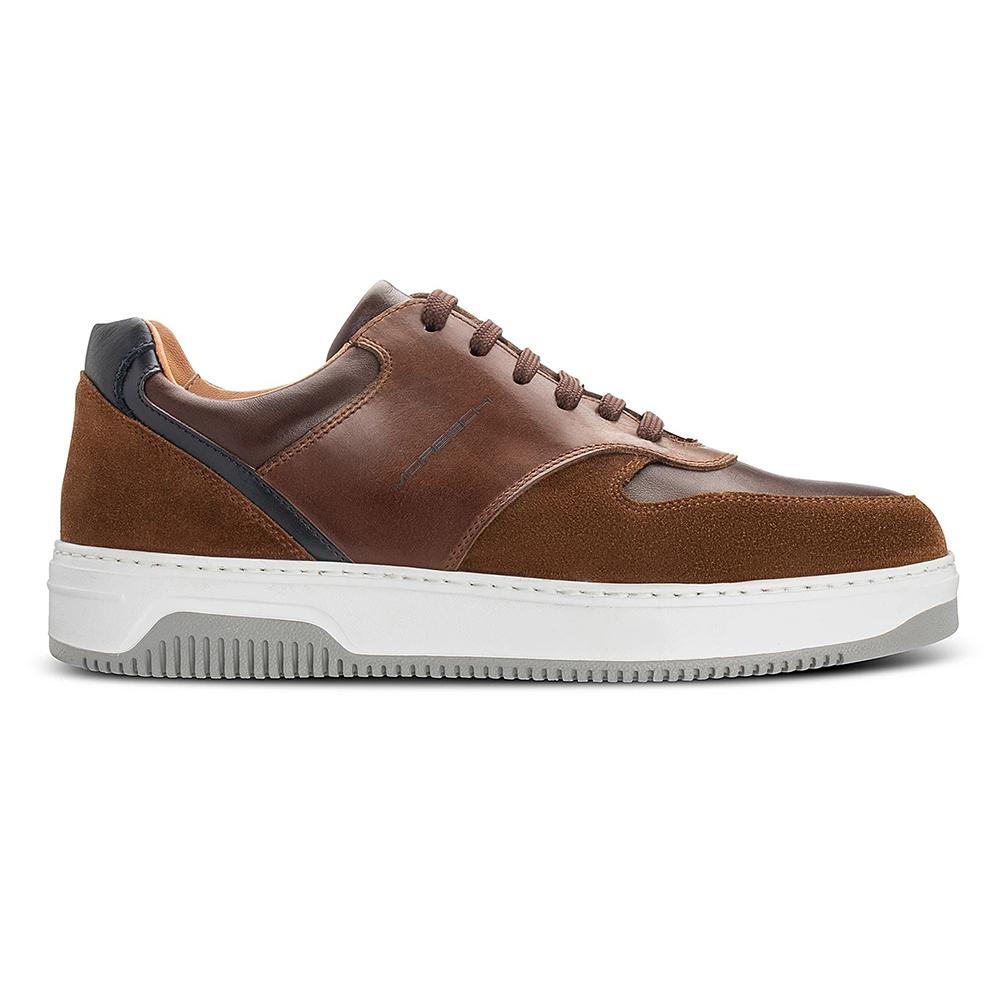 Moreschi 043974B Multicolor Sneakers Brown / Dark Blue Image