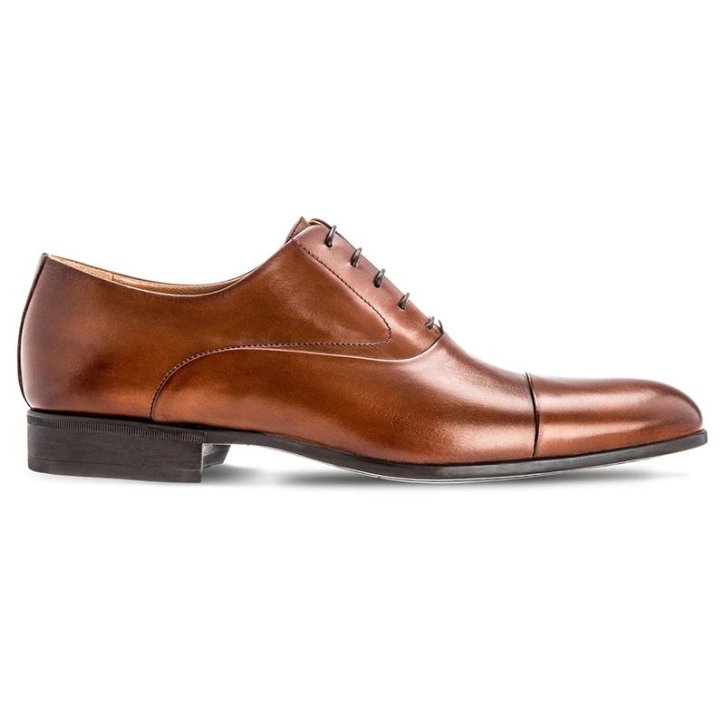 Moreschi Dublin Cap Toe Lace Up Shoes Brown Image