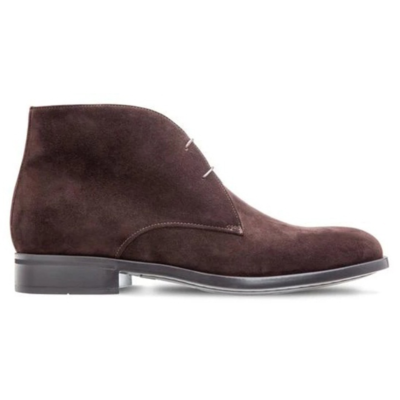 Moreschi 2000001071731 Guilford Suede Ankle Boots Dark Brown Image
