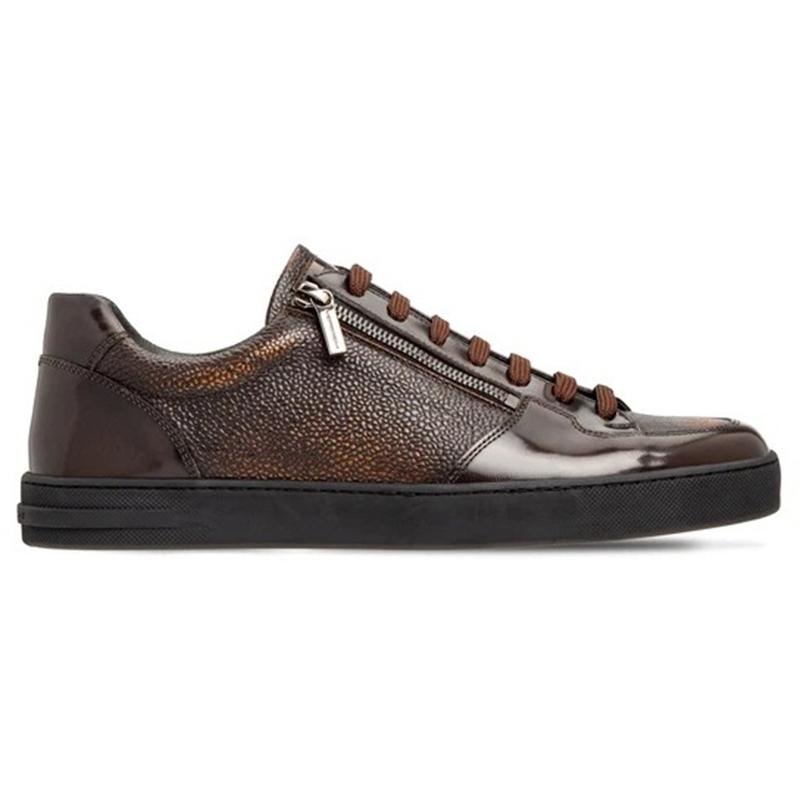 Moreschi 2000001249673 Calfskin Sneakers Dark Brown Image