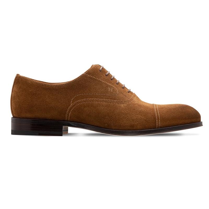 Moreschi 228878A Suede Oxford Cognac Brown Image