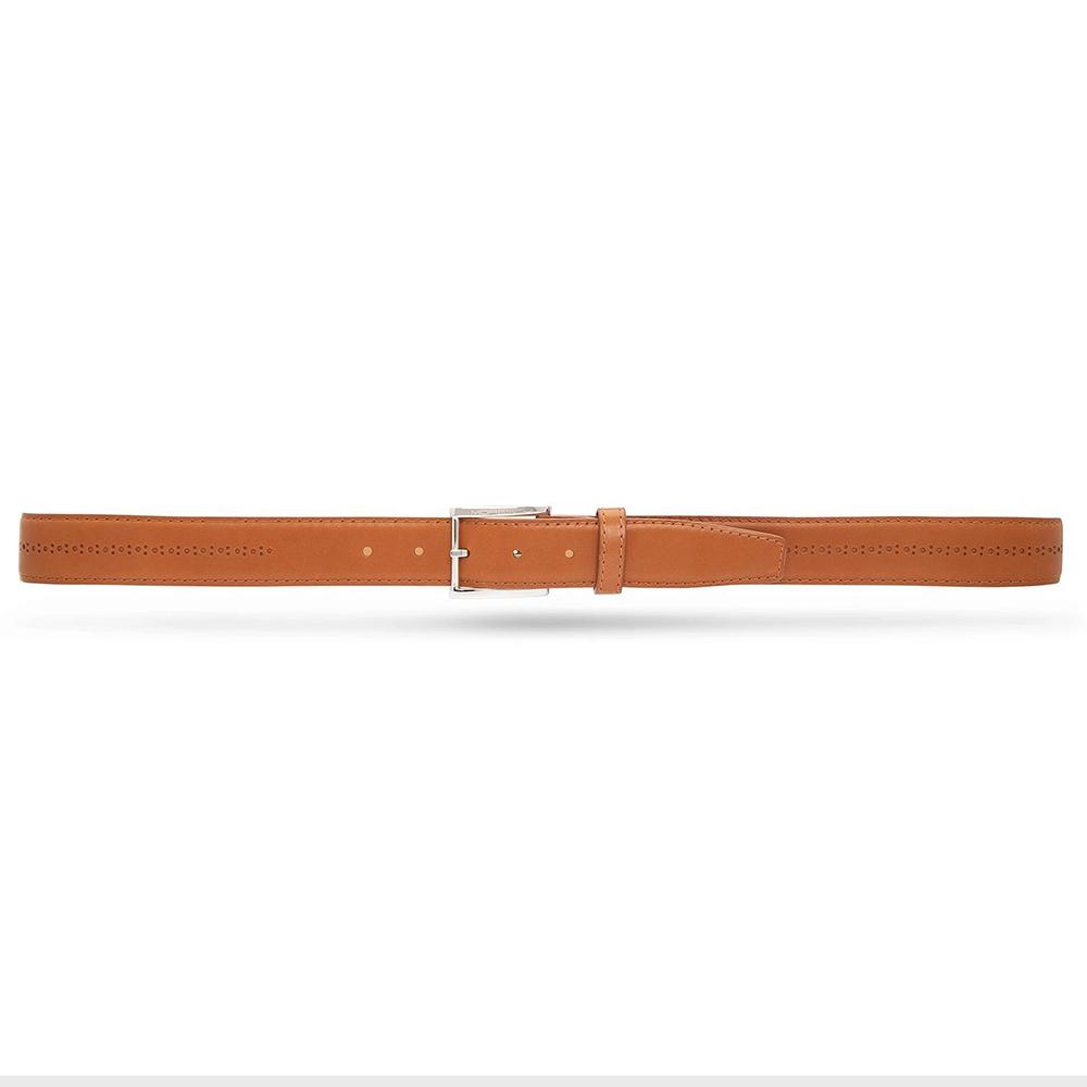 Moreschi 307025 Calfskin Belt Light Brown Image