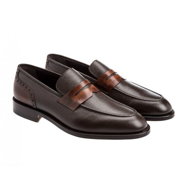 Moreschi 41780 Penny Loafers Brown Image