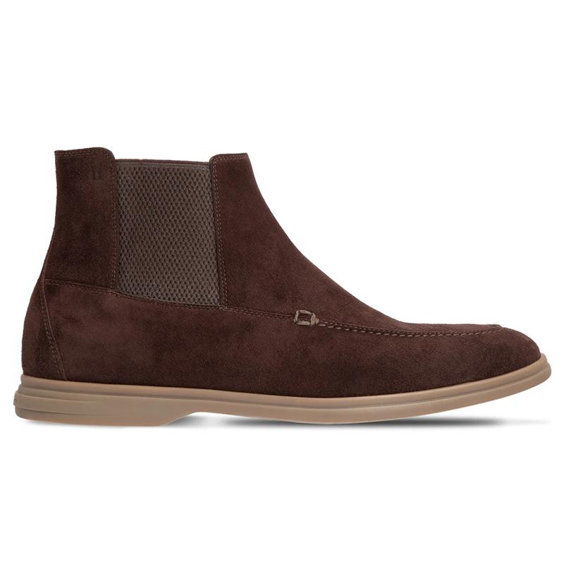 Moreschi 43546 Suede Chelsea Boots Dark Brown Image