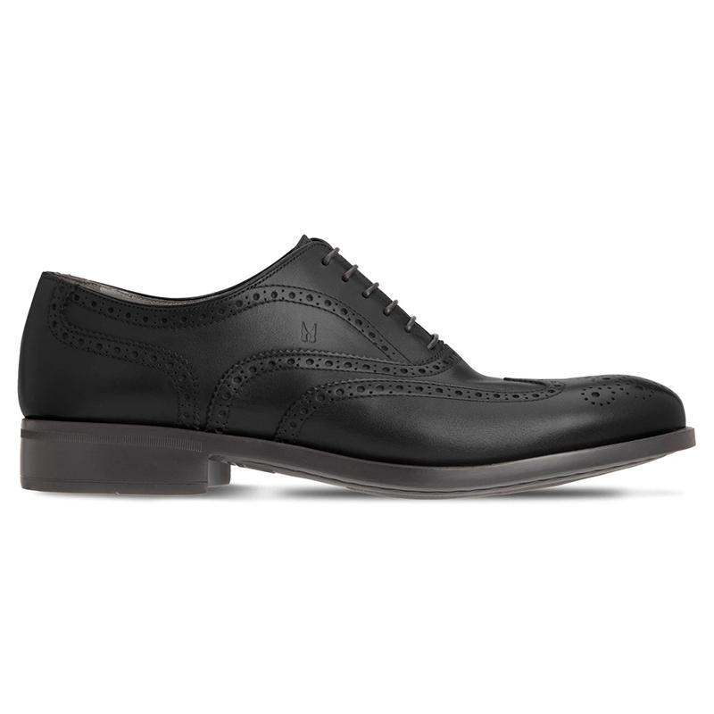 Moreschi 43583 Calfskin Oxford Shoes Black Image