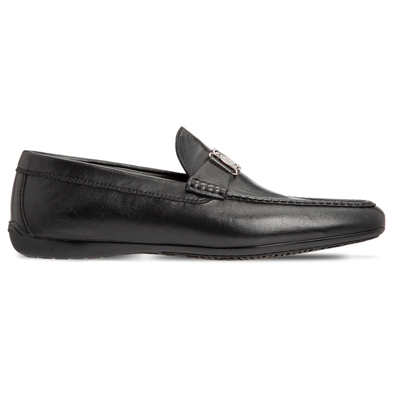 Moreschi 43590 Calfskin Loafer Shoes Black Image