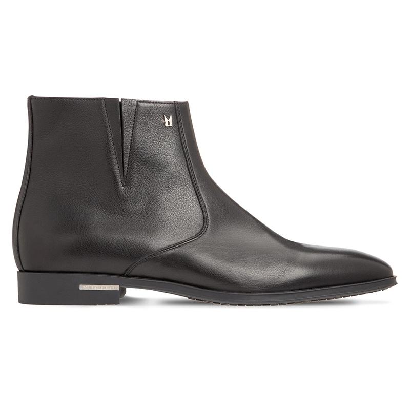 Moreschi 43607 Calfskin Ankle Boots Black Image