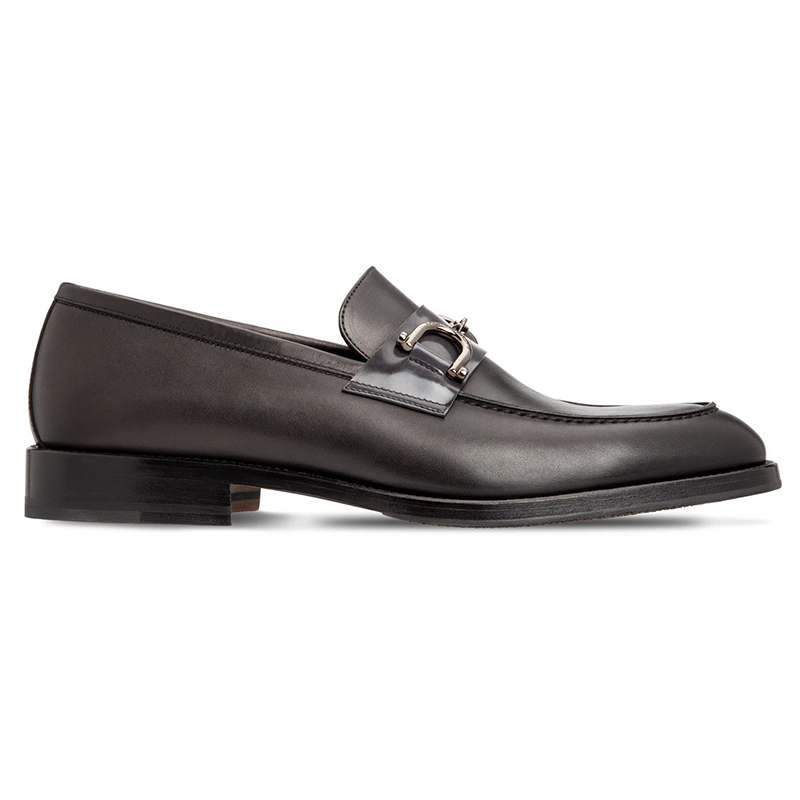 Moreschi 43640 Calfskin Loafer Shoes Black Image