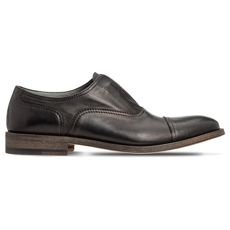 Moreschi 43643 Calfskin Oxford Shoes Black Image