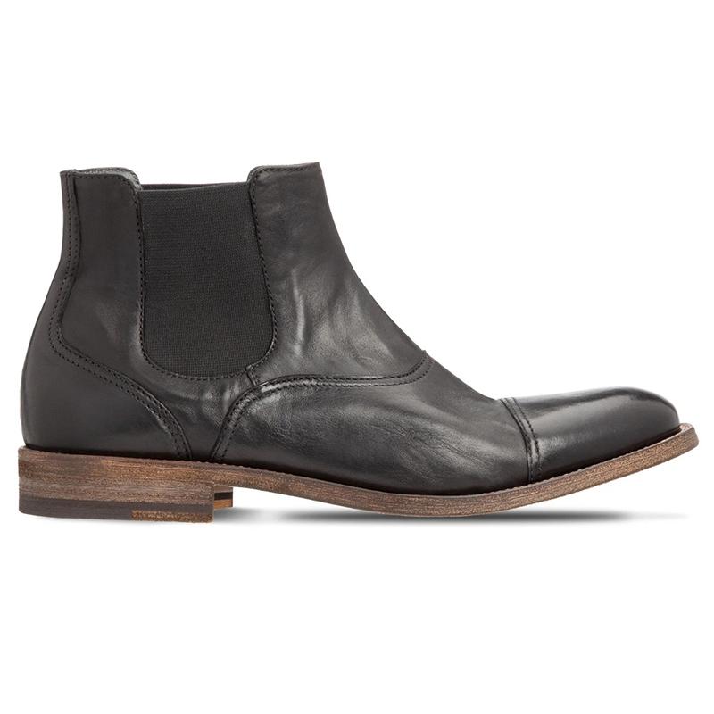 Moreschi 43645 Calfskin Ankle Boots Black Image