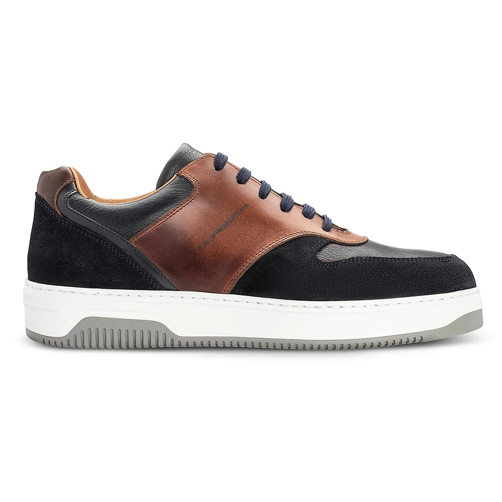 Moreschi 43974 Multicolor Sneakers Dark Blue / Brown Image