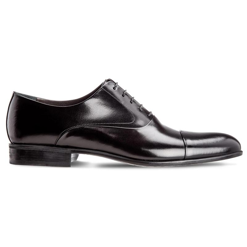 Moreschi Dublin Cap Toe Lace Up Shoes Black Image