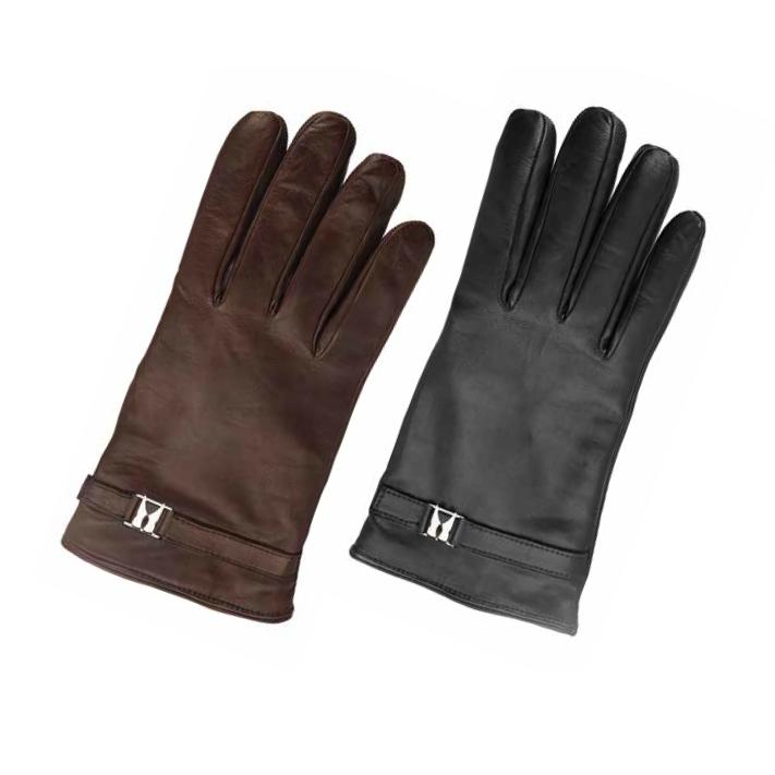 Moreschi Alaska Lambskin Winter Gloves Image