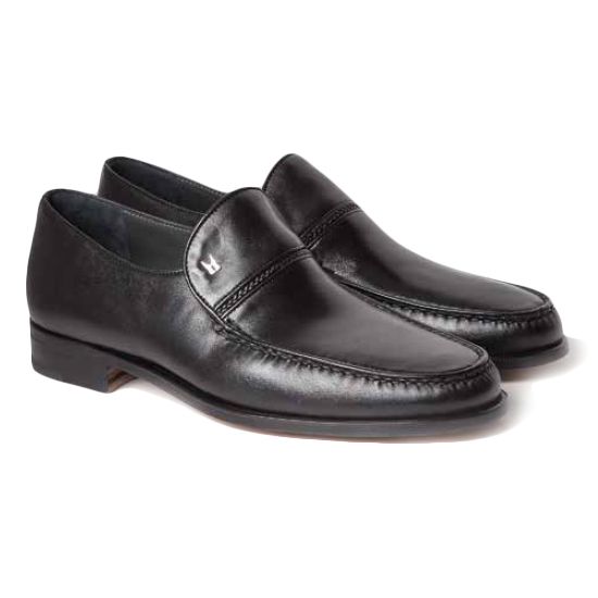 Moreschi Bonn Lambskin Shoes Black Image