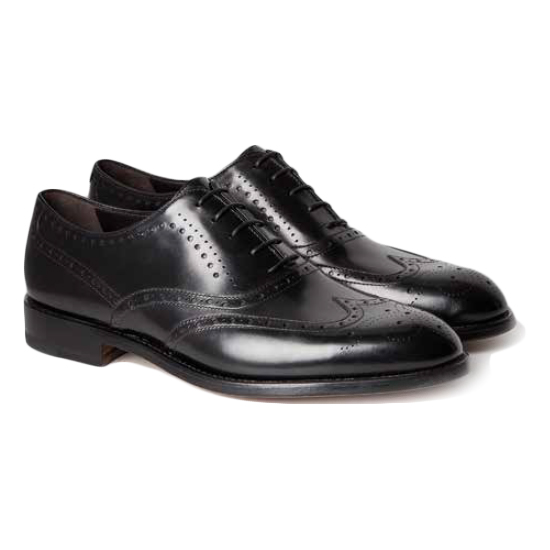Moreschi Boston Wingtip Oxfords Black Image