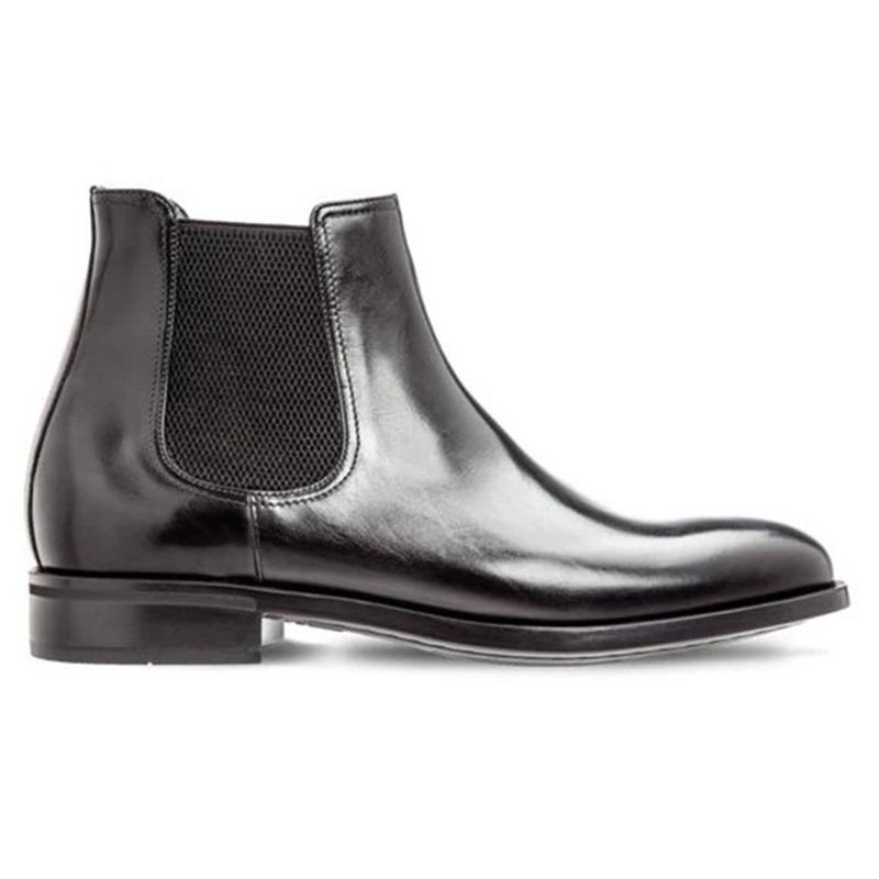 Moreschi Chelsea Calfskin Boots Black Image