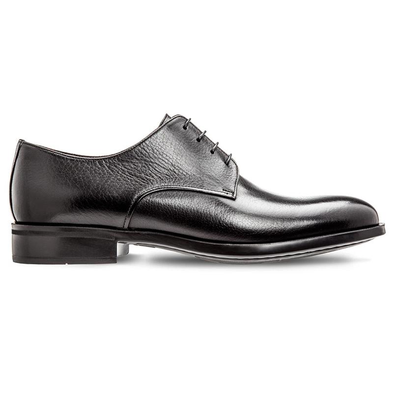 Moreschi Cork Buffalo Skin Shoes Black Image