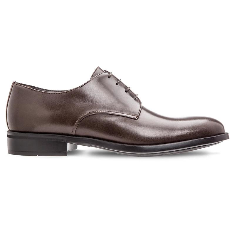 Moreschi Cork Buffalo Skin Shoes Dark Brown Image