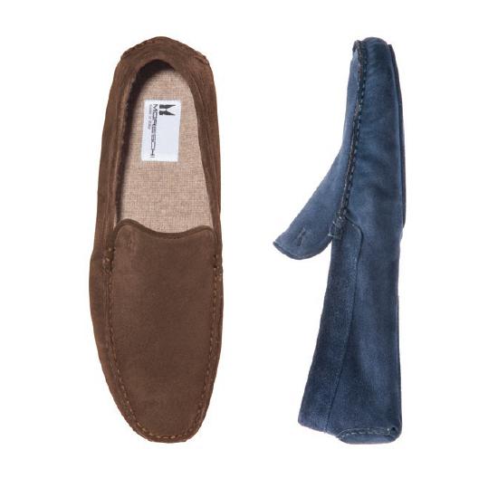 Moreschi Cortina Suede Slippers Image