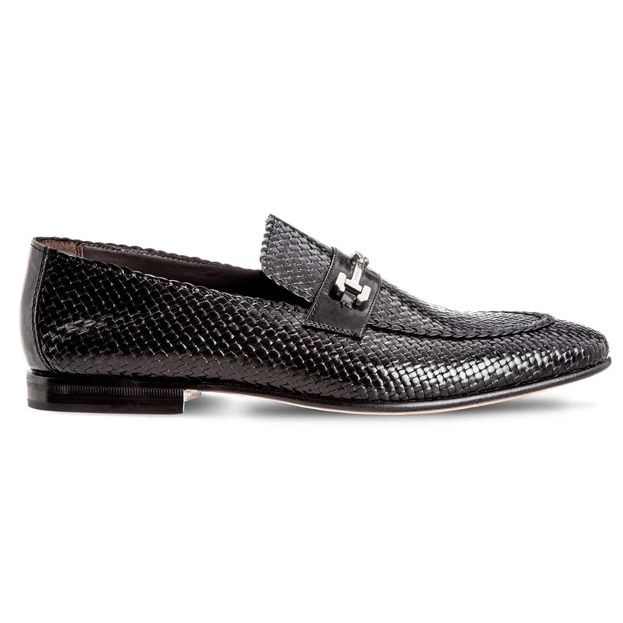 Moreschi Cuba Woven Loafers Black Image