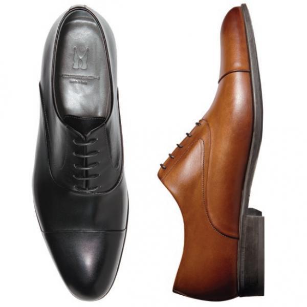Moreschi Dublin Cap Toe Lace Up Shoes Image