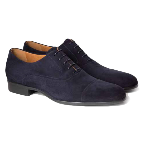 Moreschi Dublin Suede Shoes Navy Image