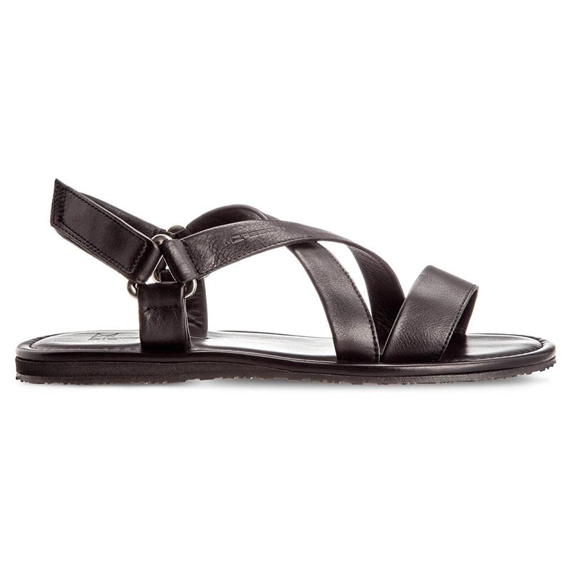 Moreschi Freeport Calfskin Sandals Black Image