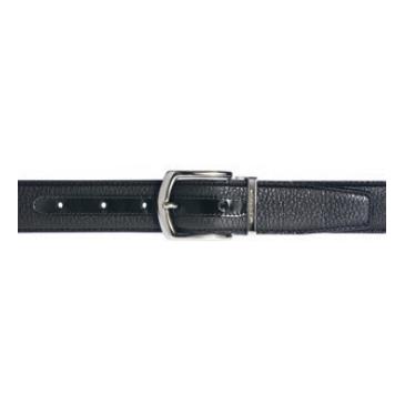 Moreschi Helsinky Grained Calfskin Belt Black Image
